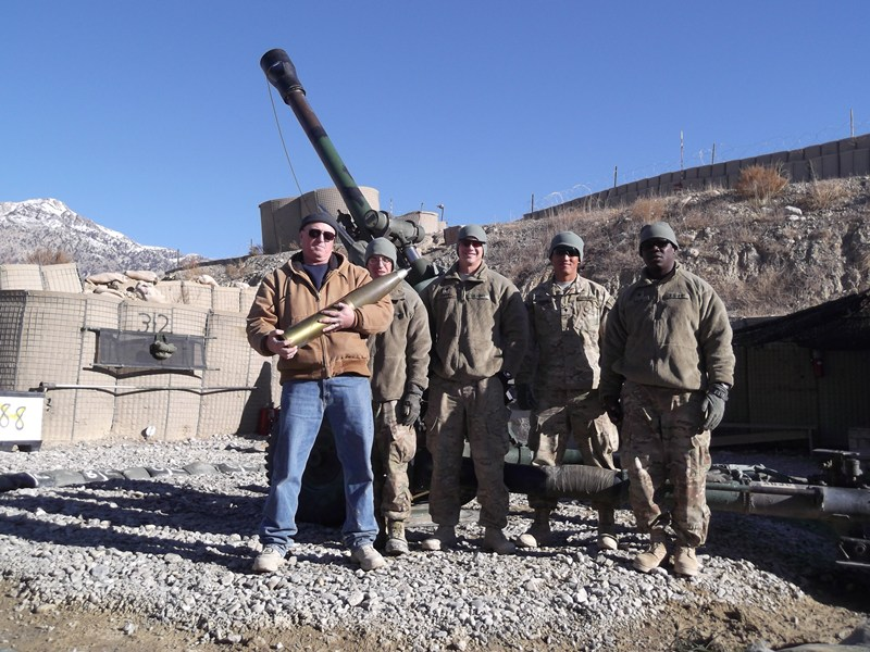 Butch in Afghanistan (MTRCS Repair Mission)